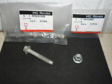 MG ZT Rover 75 Front Hub Pinch Bolt & Nut RYG101220 FX110057 New Genuine Parts