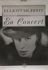 """Elliott MURPHY (En concert)"" Affiche originale (NEW ROSE 1989)"