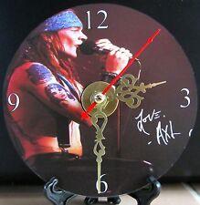Brand New W. Axl Rose Guns N Roses CD Clock Music Hard Rock Heavy Metal Nice!!