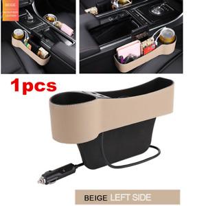 Car Seat Gap Slit Pocket Storage Organizer Caddy Keys Phone Coins Cup Holder Box
