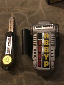 Power Rangers Turbo ranger Morpher Carranger Bandai Accelchanger sentai works