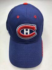 New FAN FAVORITE Montreal Canadien NHL Hockey Hook N Loop Back Hat