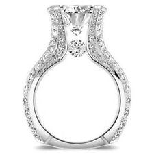 Fashion Bling Women Girls White Shiny Crystal Rhinestone Ring Jewelry 6A