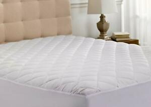 KING Quilted Mattress Cover Protector King Size Bedding Extra Deep Fitted Sheet