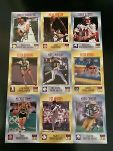 August 1997 Series 3, Sports Illustrated For Kids Mark McGwire Full Uncut Sheet!