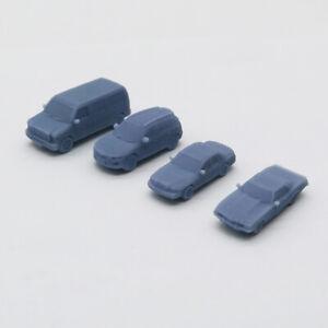Outland Models Model Railroad Layout Modern Car Set Muscle Sedan SUV Van Scale N