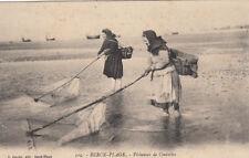 BERCK-PLAGE 109 pêcheuses de crevettes éd journé