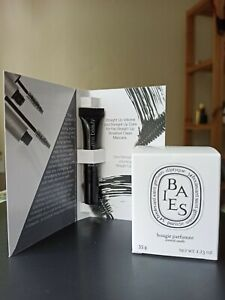 Diptyque Baies 35g brand new + rms volumizing peptide mascara travel size