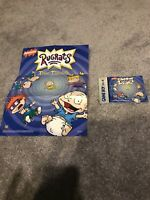 Rugrats Time Travelers Poster And Booklet For Gameboy Color No Game