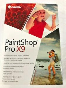 Corel PaintShop Pro X9 PC NEW!