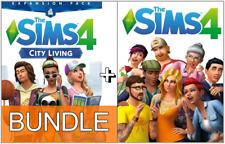 HOT SALE! The Sims 4 + City Living DLC BUNDLE  (PC/Mac) Region Free !Fast!