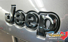 2014-2018 Jeep Grand Cherokee REAR Tailgate Black Nameplate Emblem Mopar OEM