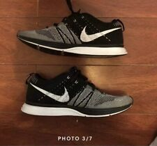 c4122632c6 NIKE FLYKNIT TRAINER Mens SIZE 10.5 - Oreo Black White - AH8396-005 Yeknit