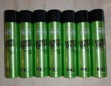 Lot of 7 Garnier Fructis Extreme Control Hairspray Extreme Hold 8.25 oz.