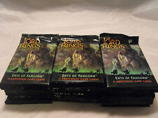 LORD OF THE RINGS TCG ENTS OF FANGORN LOT OF 30 SEALED PACKS