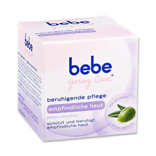 bebe Young Care soothing care specifically for sensitive skin New from Germany