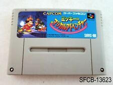 Mickey's Magical Adventure 1 Super Famicom Japanese Import SFC JP US Seller B-
