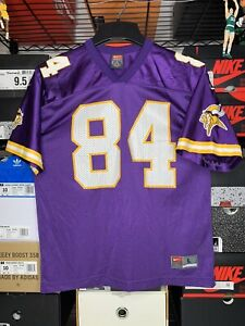 Vintage Nike NFL Randy Moss Minnesota Vikings Football Jersey YOUTH Size Large