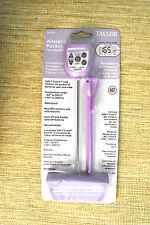 Taylor 9878EPR Allergen Waterproof Digital Pocket Thermometer with 1.5mm Probe