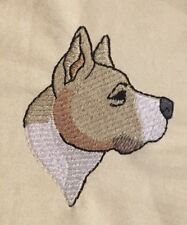 Staffordshire Bull Terrier, Hand Towel, Embroidered, Custom, Personalized, Dog