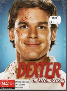 DEXTER. S2. Brand New/Sealed. Michael C Hall. 4 x R4 DVDs