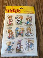 Hallmark Betsey Clark Stickers Vintage 1986 Sealed in Package!