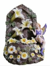 Enchanted Musical Fairy Wishing Well with Flowers and Led Lights Lullaby Fantasy
