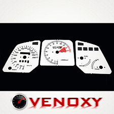 Honda VFR 750 1986-1989 RC24 Gauge Faces Dials WHITE