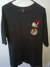 Vintage Looney Toons Tee Size Xl 2 Tee's Combo Taz & Bugs Bunny, Wille E. Coyote