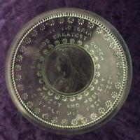 1897 Queen Victoria Diamond Jubilee Commerative plate - Great inscription
