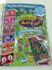 *Topps Moshi Monsters Code Breakers Card Game Offcial Album Inc Pages +Free pack