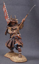 Tin toy soldiers ELITE painted 90mm Samurai Warrior with ''Naginata'', 1600-1867