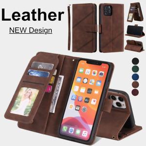 Case For iPhone 12 11 8 7 6 Mini Plus Pro XS MAX XR SE Leather Flip Wallet Cover