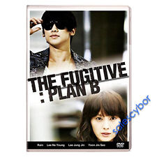 """BUY 5 GET 1 FREE""  The Fugitive: Plan B Korean Drama (5DVDs) GOOD_ENGLISH!"