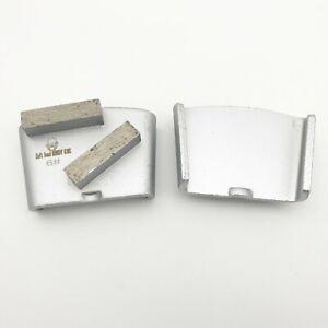 Metal Scraper Diamond Grinding Segment for HTC Grinder Grit 6 soft Bond