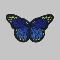 10PCS Embroidery Butterfly Sew Iron On Patch Badge Dress Set Embroidered S7T5