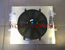 FOR TOYOTA HILUX LN106 LN111 diesel 1988-1997 92 93 AT/MT Aluminum Shroud + Fan