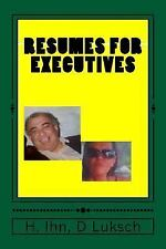 Resumes and CV: Resumes for Executives : Cover Letter by Doris Luksch and...