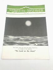 Original Vintage August 1952 The Griffith Observer Los Angeles Ca Observatory