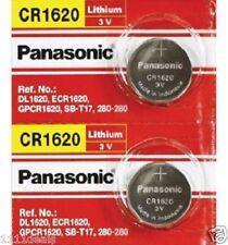 2 x CR1620 ECR1620 CR 1620 3v Lithium battery By Panasonic