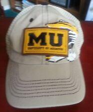 Univ of Missouri MU ball cap hat