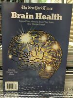BRAIN HEALTH -STAY SHARPER LONGER EXPAND MEMORY 2020 THE NEW YORK TIMES Magazine
