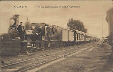 ARGENTINA  TREN DE COMBINACION DIRECTA A CORRIENTES F.C.N.E.A. RAILWAYS