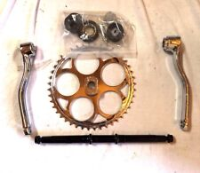 80cc gas engine motor bike parts- 4-pc wider pedal crank kit (1.25
