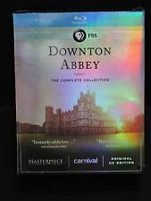 DOWNTON ABBEY 1-6 Blu-Ray   Complete Series Collection Season 1 2 3 4 5 6 SEALED