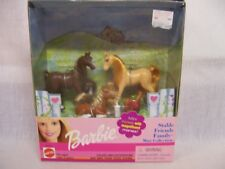 Barbie 2000 Stable Friends Family Horses Mini Coll Nib Nrfb Magnificent Manes