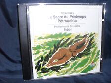 Stravinsky-Le parue TU Printemps/Petrouchka-Inbal
