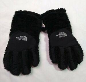The North Face UR Powered Girls Size Medium Winter Gloves Black