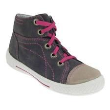 Chaussures gris en cuir pour fille de 2 à 16 ans, pointure 28