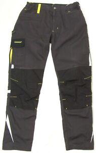 DUNLOP Men's Heavy Duty Workwear Trousers Size W34 / L32  (0.85 kg)